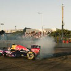 Espectáculo Red Bull en el Top Gear Festival