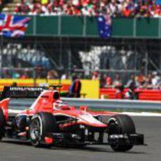 Max Chilton disputa su Gran Premio en casa