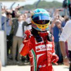 Felicidad en Fernando Alonso