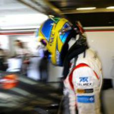 Esteban Gutiérrez listo para subirse al Sauber C32