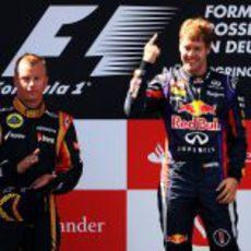 Räikkönen y Vettel, ganadores en Alemania