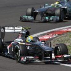 Esteban Gutierrez sigue sin lograr puntuar en carrera