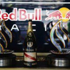 Trofeos del equipo Red Bull en Alemania