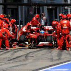 Parada para Fernando Alonso