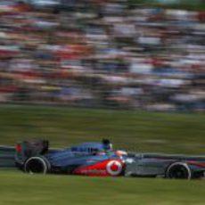 Jenson Button terminó quinto en Alemania