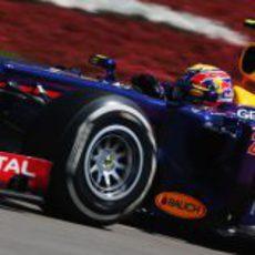 Mark Webber hizo una gran remontada en Alemania