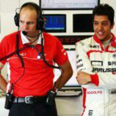 Rodolfo González posa en Silverstone