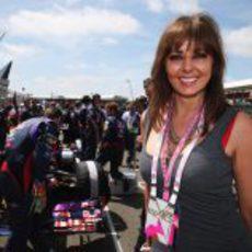 Carol Vordermann en Silverstone