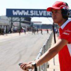 Rodolfo González en Silverstone con Marussia