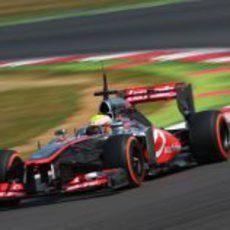 Oliver Turvey rodando con McLaren