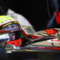 El box de McLaren