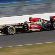 Davide Valsecchi sale a pista en Silverstone