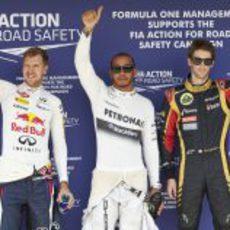 Vettel, Hamilton y Grosjean, los más rápidos en Hungaroring