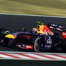 Mark Webber completa los Libres 3 en Hungría