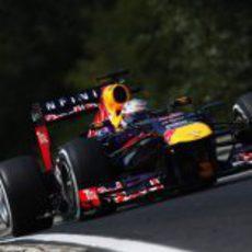 Sebastian Vettel estuvo cerca de lograr la pole en Hungría
