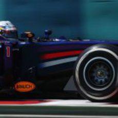 Neumáticos medios para Sebastian Vettel