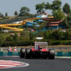 Parte trasera del F138 de Felipe Massa