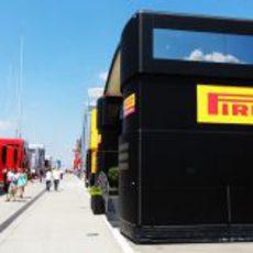 Motorhome de Pirelli en Hungría