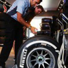 Neumático medio en Hungría
