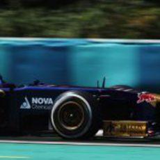 Daniel Ricciardo se coló en la Q3 en Hungría