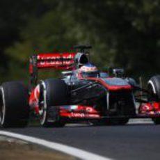 Jenson Button se quedó en la Q2