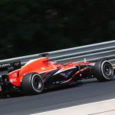 Jules Bianchi no pudo con Caterham