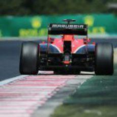 Max Chilton avanza en la clasificación de Hungría