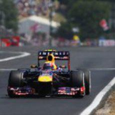 Mark Webber se quedó a las puertas del podio