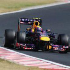 Mark Webber se recuperó durante la carrera