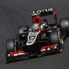 Romain Grosjean terminó sexto en Hungría