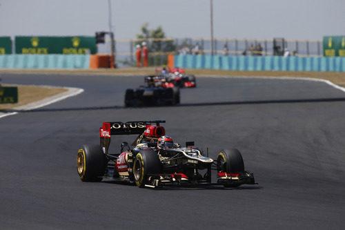 Kimi Räikkönen volvió a llegar al podio en Hungría
