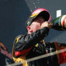 Nuevo podio para Kimi Räikkönen