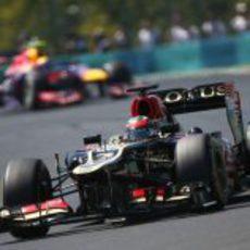 Kimi Räikkönen optó por dos paradas en Hungría