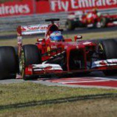 Fernando Alonso acabó quinto en Hungría