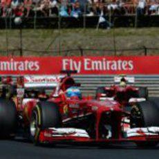 Fernando Alonso no tuvo ritmo en Hungaroring