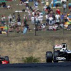 Pastor Maldonado logra el primer punto del año