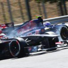 Nico Hülkenberg se empareja con Daniel Ricciardo