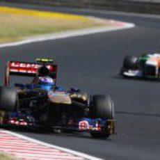 Daniel Ricciardo no transformó su posición de salida en puntos