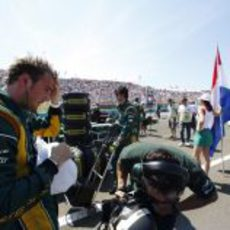 Giedo van der Garde listo para disputar otro GP con su CT03