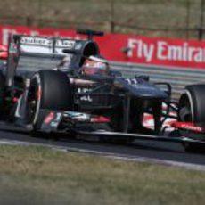 Nico Hülkenberg mantiene detrás a Sergio Pérez