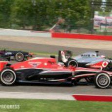 Toro Rosso, Marussia y McLaren en el 'F1 2013'