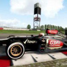 Romain Grosjean en el 'F1 2013'