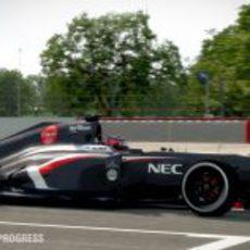 Nico Hülkenberg en el 'F1 2013'