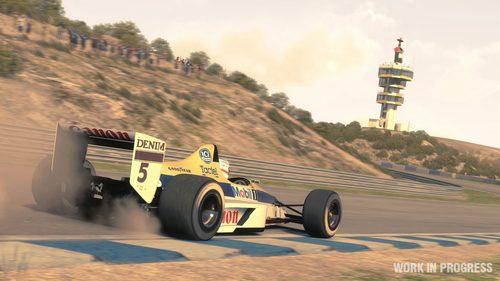 El Williams-Judd FW12 en el 'F1 2013'