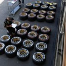 Marcado de neumáticos