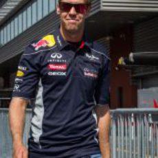 El nuevo look de Sebastian Vettel