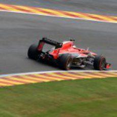 Jules Bianchi se estrena en Spa