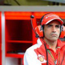 Marc Gené en el circuito de Spa