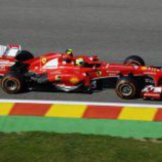 Felipe Massa tuvo buenas sensaciones