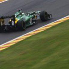 Heikki Kovalainen vuelve al trazado de Spa un monoplaza de F1